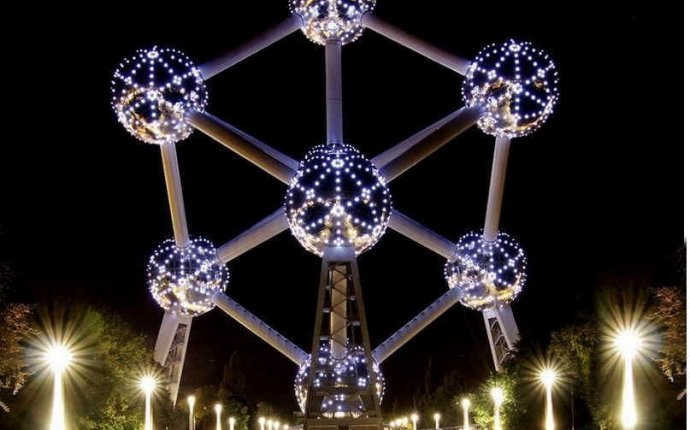 Atomium, Brussels, Belgium I have only one word for this building