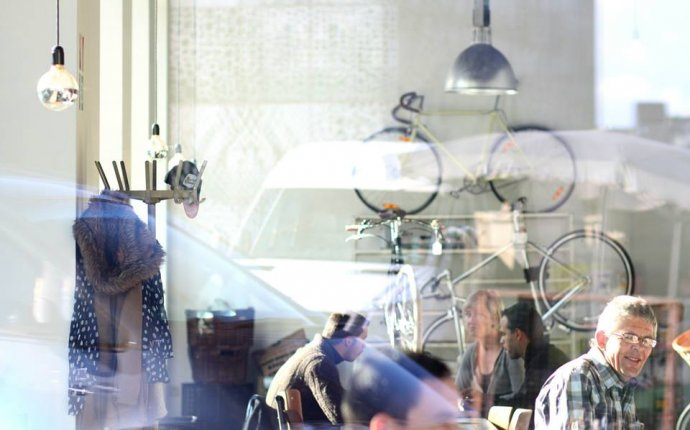 Bidon, Coffee and Bicycle - a hip cafe in Ghent, Belgium | PLACES