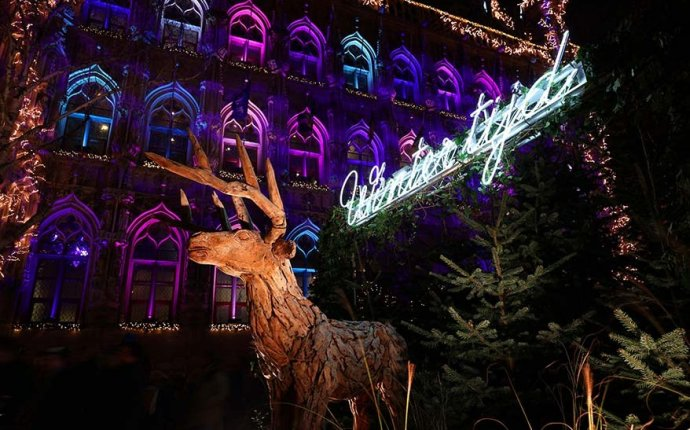 Leuven Christmas Market and Winter Wonderland - Belgium