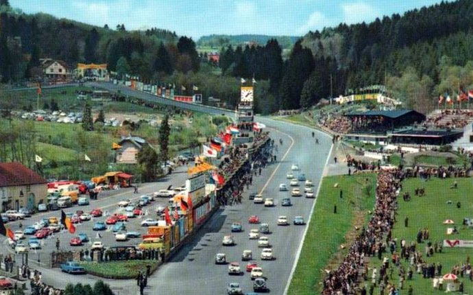 Transpress nz: the Circuit de Spa-Francorchamps, Belgium