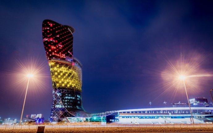 UAE landmarks light up in colours of Belgian flag as country