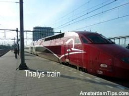 amsterdam - brussels thalys