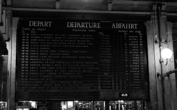 Paris to Belgium by train