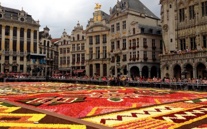 Brussels Belgium Grand Place