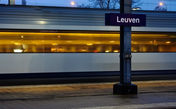 Belgium train Travel