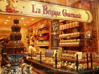 One of Belgium greatest national delights is chocolate, from dark to white, coated or patterned, solid or filled with a dizzying array of decadent treats