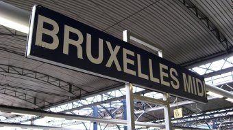 Picture of Brussels Midi train station