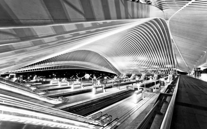 Liege Belgium train station